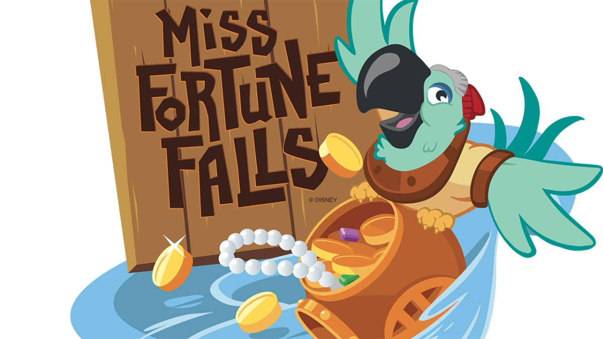 New 'Miss Fortune Falls' Attraction Coming to Disney's Typhoon Lagoon in March 2017