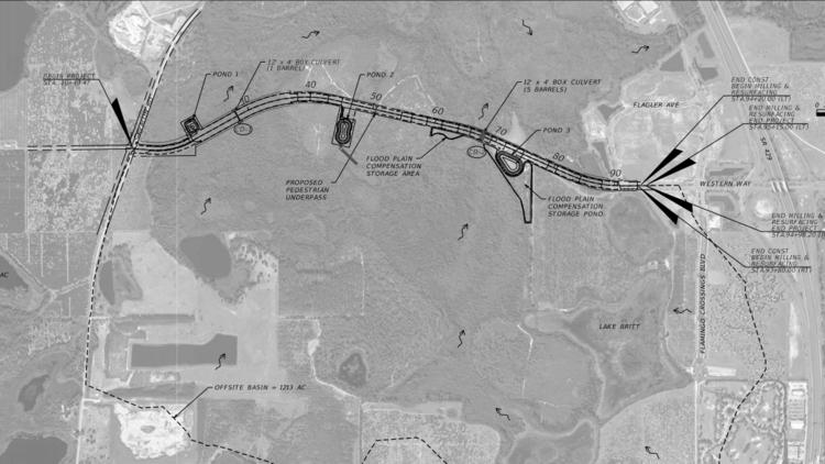 Walt Disney World to Extend Western Way to Route 545 (AvalonRd.)