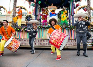 "'DISNEY ¡VIVA NAVIDAD!' – At Disney California Adventure Park, ""Disney ¡Viva Navidad!"" takes over Paradise Gardens for the Holiday season, with a daily celebration inspired by the warmth and joyous spirit of Latino culture and holiday traditions. From Nov. 13, 2014 through Jan. 6, 2015, ""Disney ¡Viva Navidad!"" offers special activities such as live Latino music, dance lessons, crafts for children and a ""Disney ¡Viva Navidad! Street Party."" (Paul Hiffmeyer/Disneyland)"