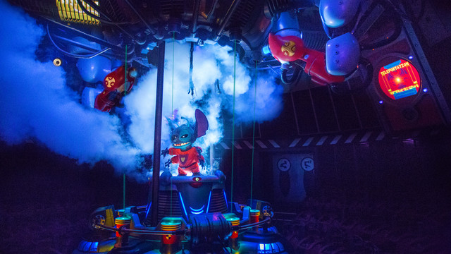 Stitch's Great Escape! Moves to Seasonal Status
