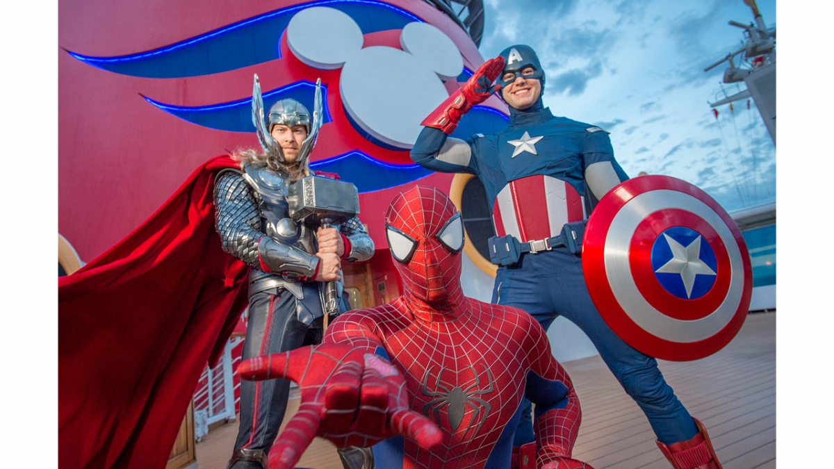 Disney Cruise Line Introduces First-Ever Marvel Day at Sea