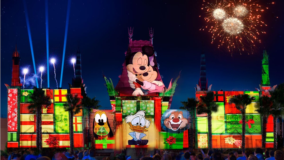 """Holiday Nighttime Spectacular """"Jingle Bell, Jingle BAM!"""" Coming to Disney's HollywoodStudios"""