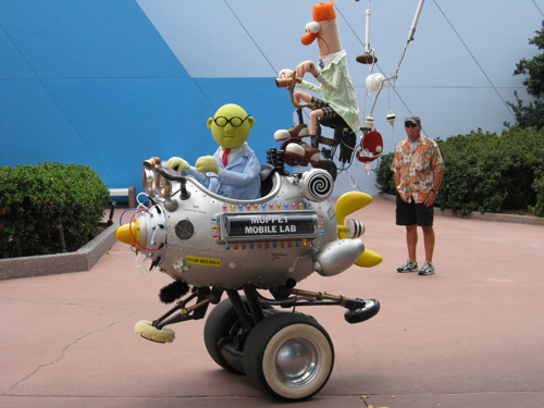 Muppet Mobile Lab Returning to Epcot