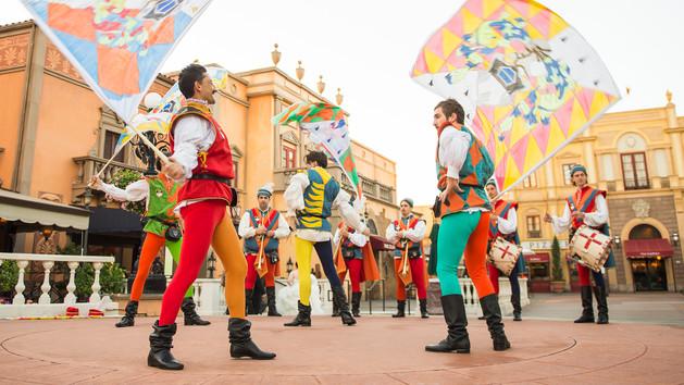Sbandieratori Di Sansepolcro Flag Waivers No Longer Performing at ItalianPavilion