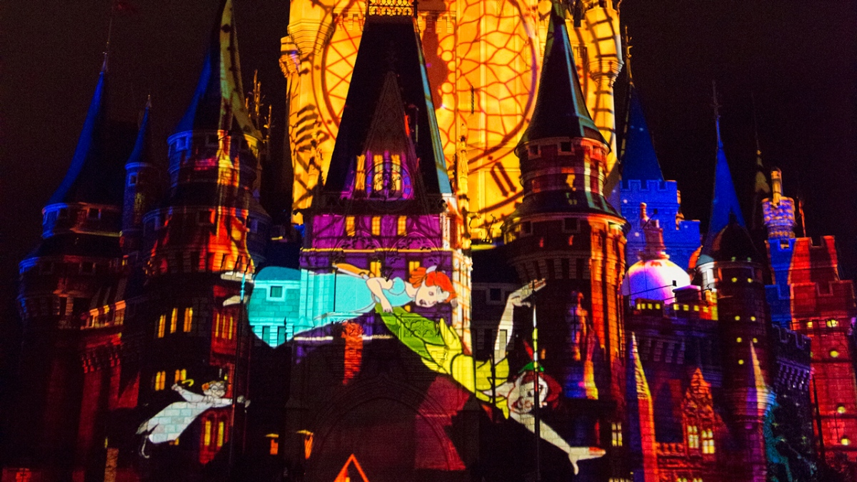 New 'Once Upon A Time' Projection Show Begins November 4 at the MagicKingdom