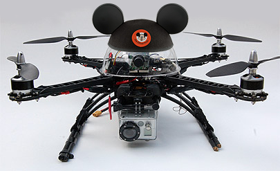 FAA Approves Disney's Request for Drone Flights Over US Theme Parks