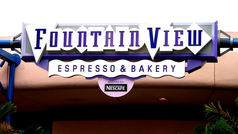 Fountainview Espresso & Bakery Opens at Epcot on This Date in 1993