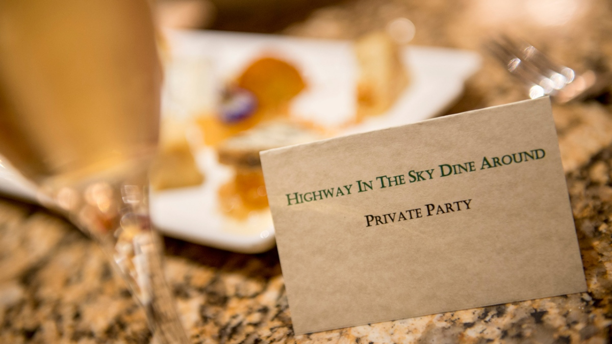 Walt Disney World Launches New Highway in the Sky Dine-Around Launches December2nd