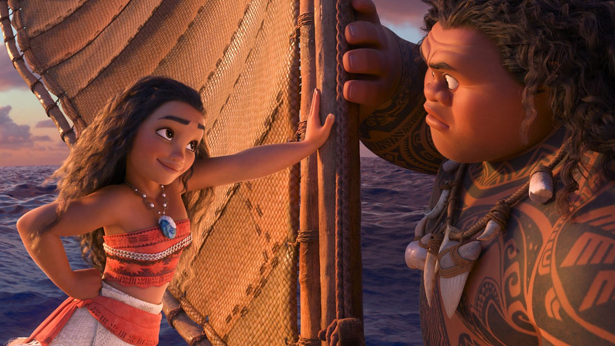 'Moana' Rules Box Office with 2nd-best Thanksgiving Weekend Ever