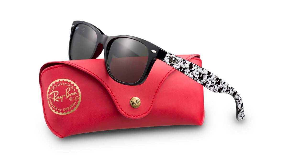 Ray-Ban Sunglasses Featuring Mickey Mouse Debut for the Holidays
