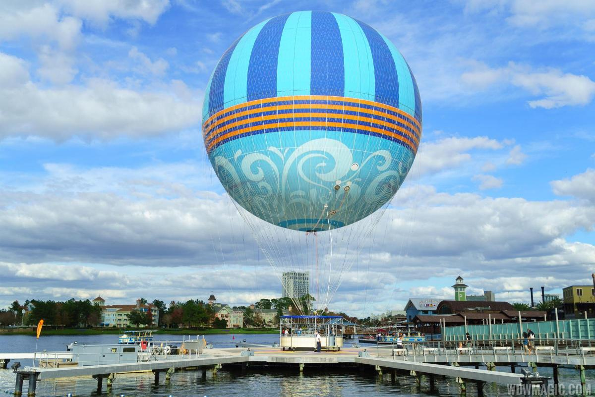 New Characters in Flight Balloon Rises Above DisneySprings