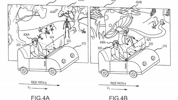 Disney Files Patent that Would Alter Rides Based on PassengerEmotions