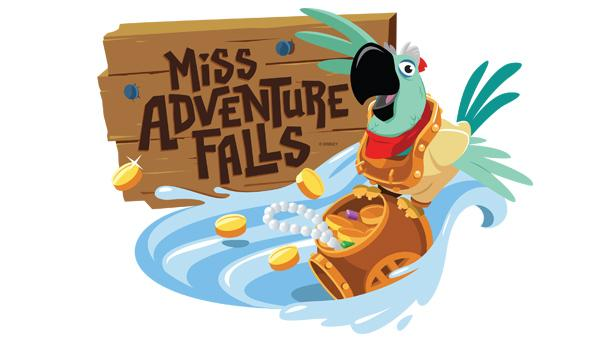 'Miss Adventure Falls' Attraction to Open March 12 at Disney's Typhoon Lagoon
