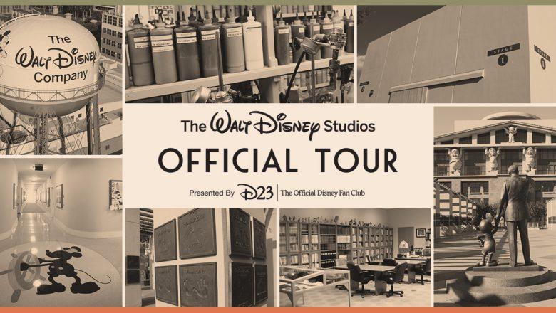 D23 Gold Member Exclusive – Walt Disney StudiosTour
