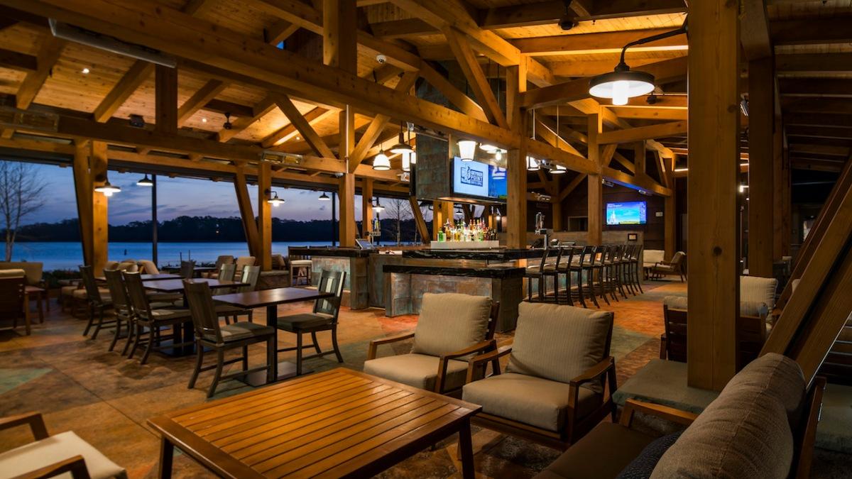 Geyser Point Bar & Grill Opens at Disney's WildernessLodge