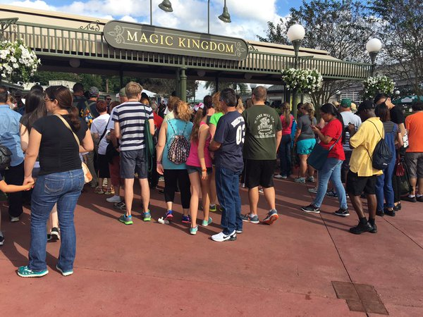 Magic Kingdom Moving Security Screening Areas on April 3rd