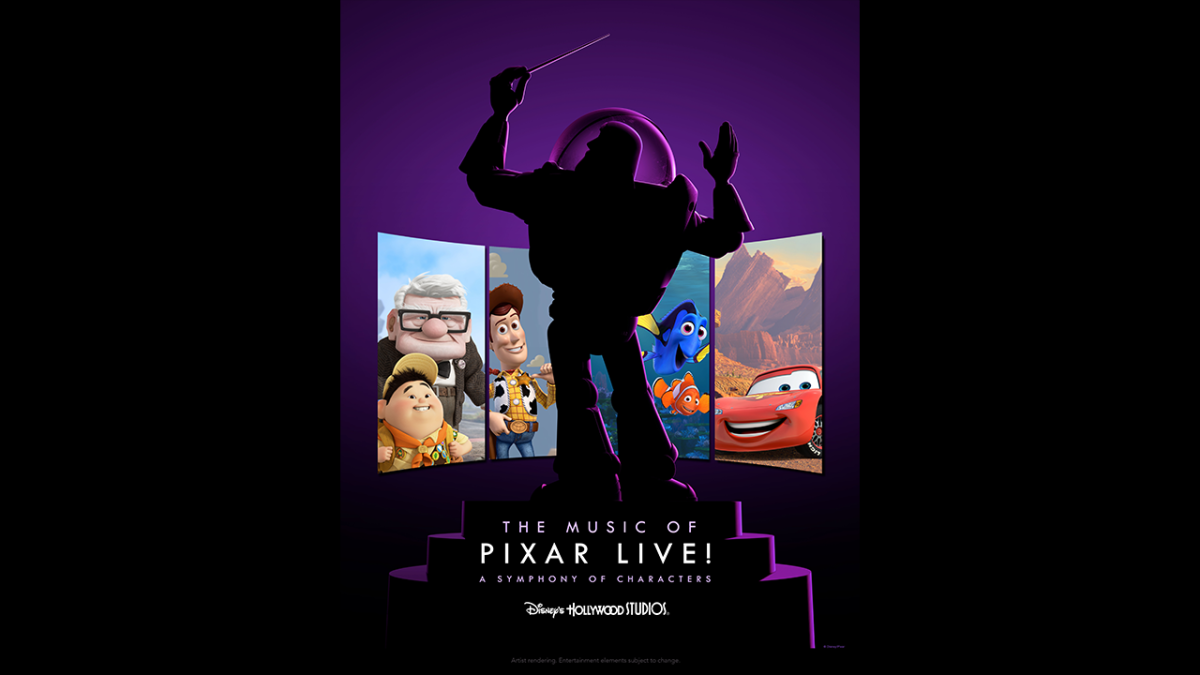 'The Music of Pixar Live!' Will Debut at Disney's Hollywood Studios This Summer