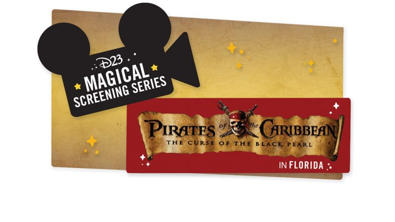 D23's Magical Screening Series: Pirates of the Caribbean: The Curse of the Black Pearl inFlorida