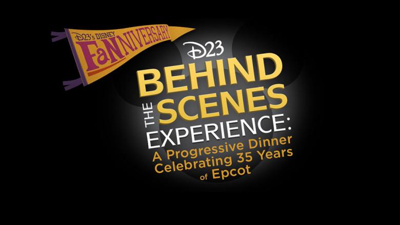 D23 Announces A Progressive Dinner Celebrating 35 Years ofEpcot