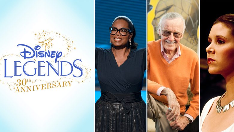 D23 Announces the Nine Disney Legends to be Honored at D23 Expo