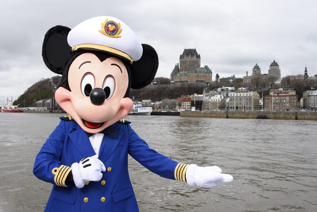 Disney Cruise Line Sails to Bermuda for the First Time and Visits New Ports Including Quebec City, Canada, in Fall2018
