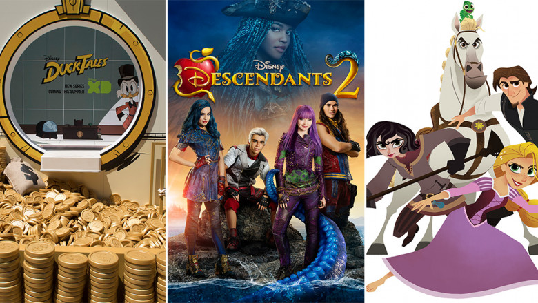 DuckTales, Tangled: The Series, and Descendants 2 Coming to D23 Expo