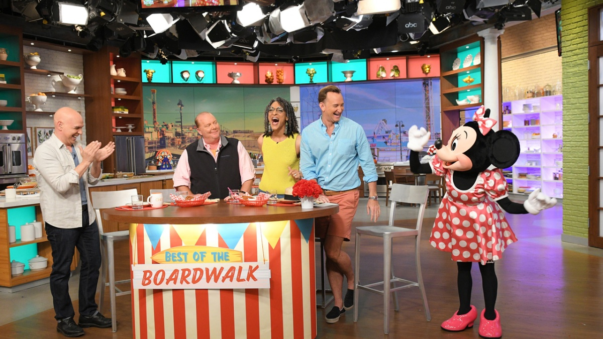 ABC's 'The Chew' Returns to Epcot International Food & Wine Festival