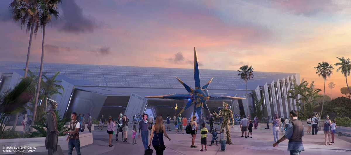 Guardians of the Galaxy Attraction Officially Opening in Epcot's Future World