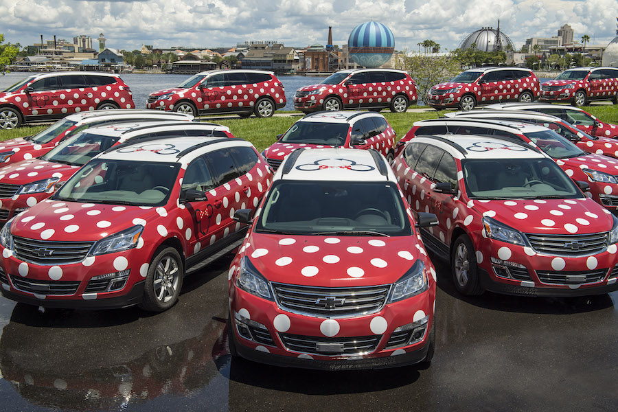 Minnie Vans to Shuttle Visitors Around Walt Disney World from Lyft App