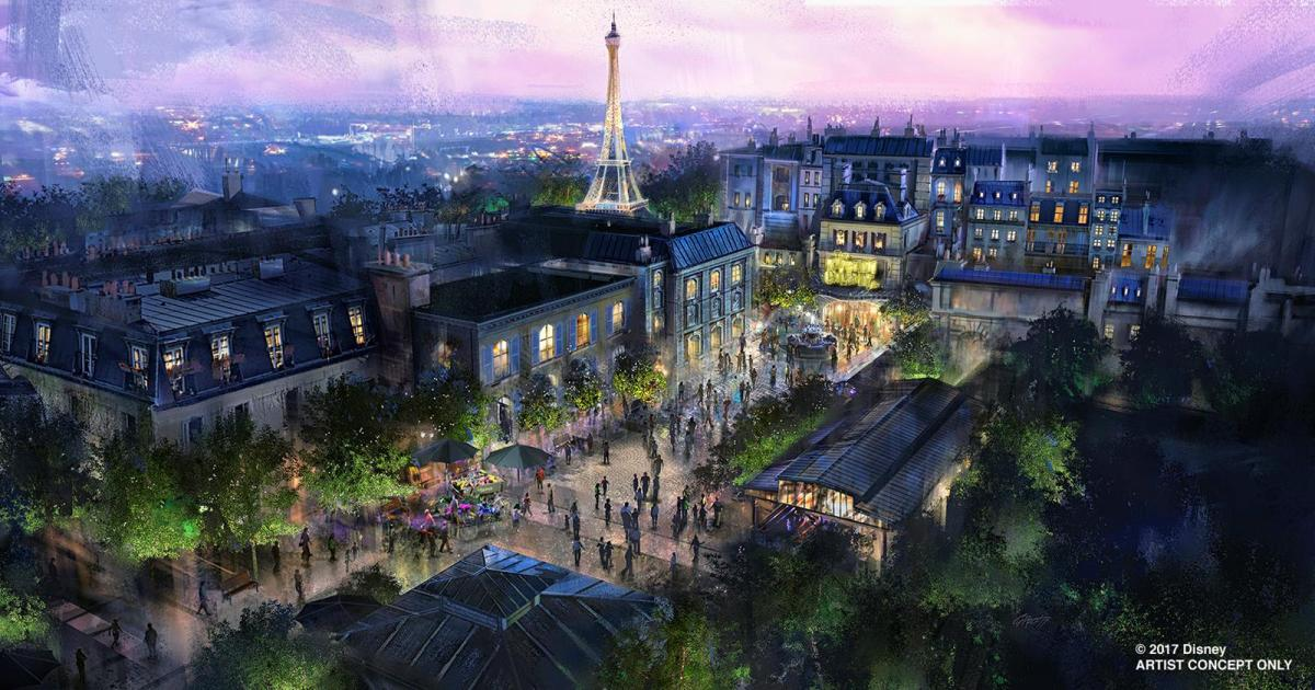 Ratatouille Attraction Coming to Epcot's France Pavilion