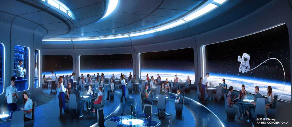 Epcot's Future World to Get New Space-Themed Dining Experience