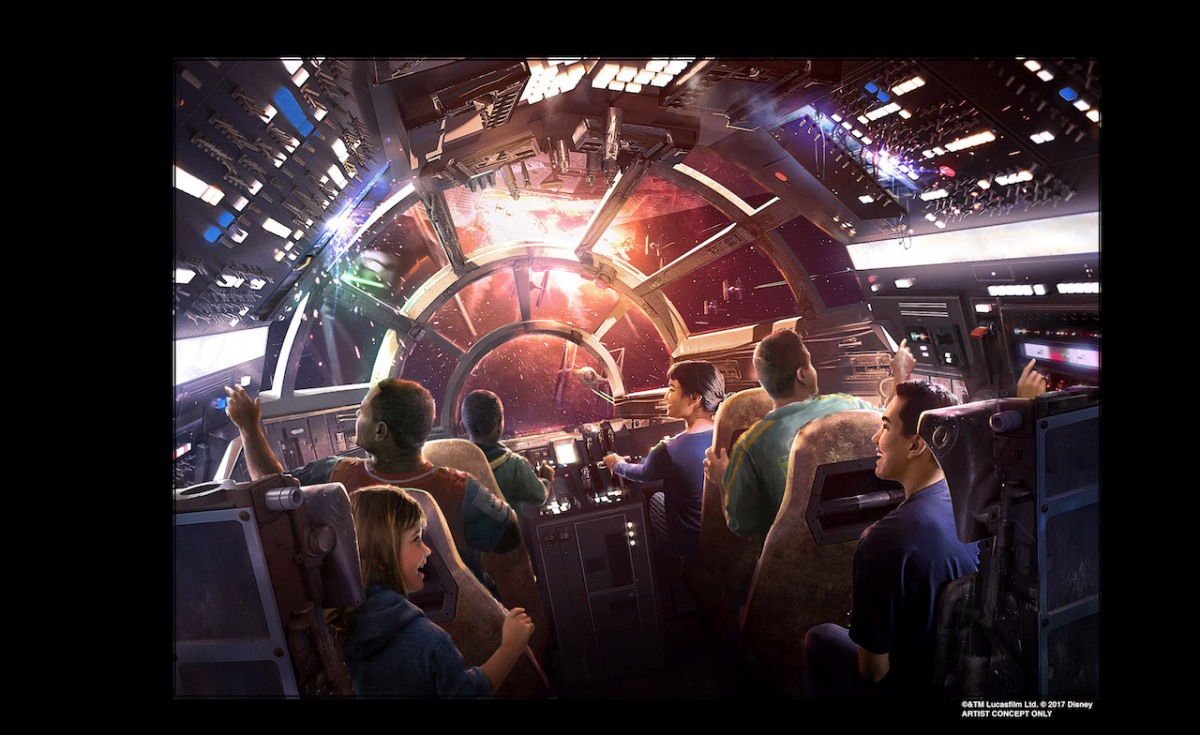 Star Wars: Galaxy's Edge Announced as Name for Star Wars Lands