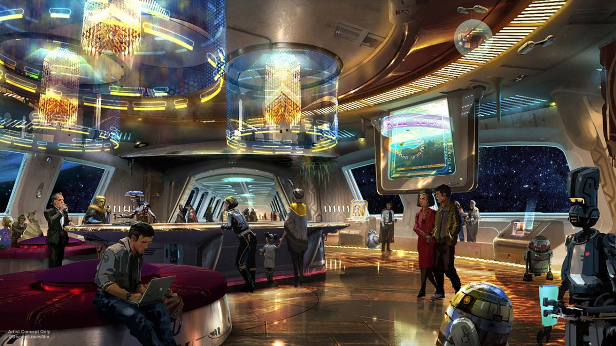 Disney Plans Unveils for Star Wars-Inspired Themed Resort at Walt Disney World at D23 Expo