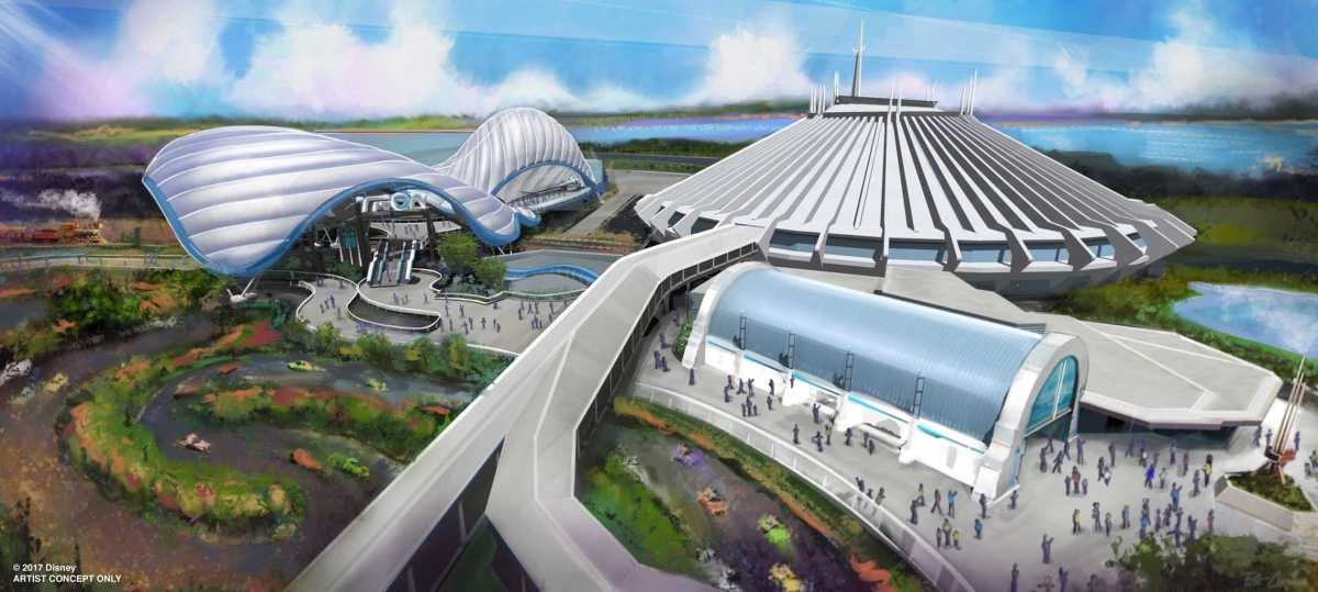 Tron Coaster Coming to Tomorrowland in the Magic Kingdom