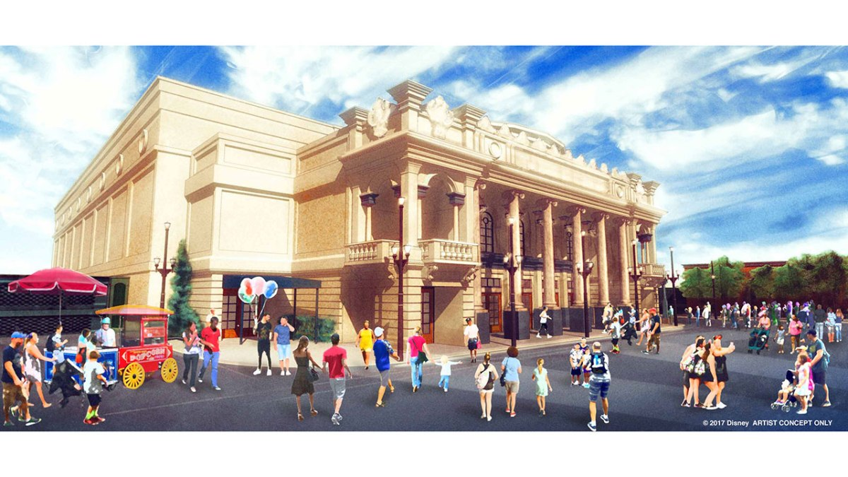 New Theater Inspired By Kansas City's Willis Wood Theater To Debut at Walt Disney World