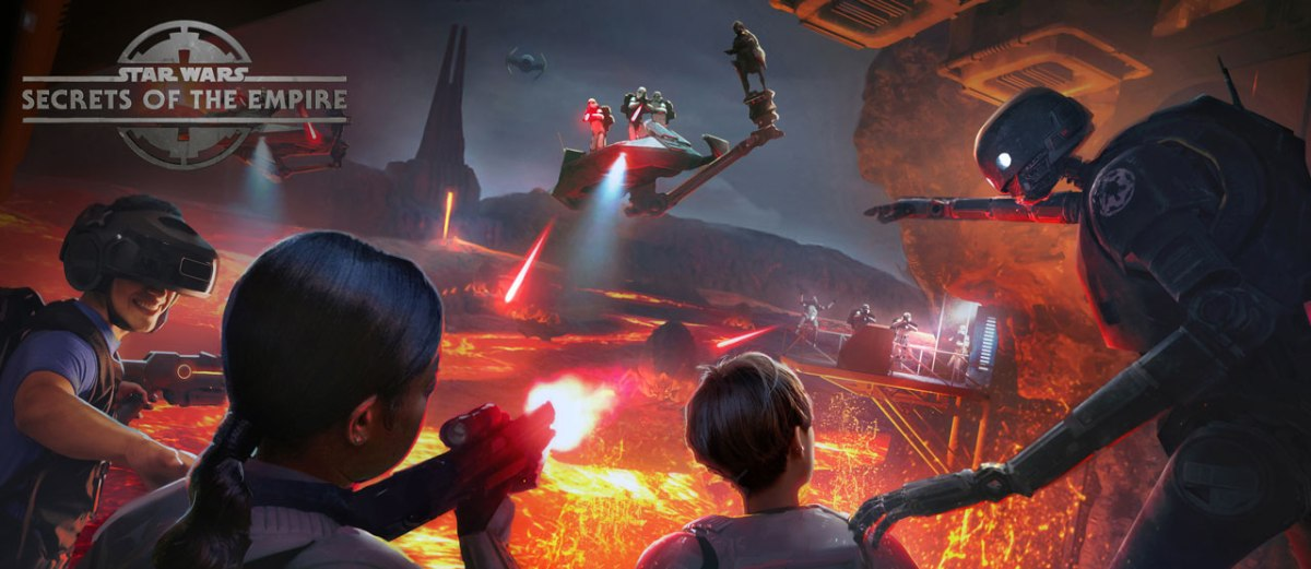 Star Wars: Secrets of The Empire Hyper-Reality Experience Coming Disney Springs and Disneyland's Downtown Disney