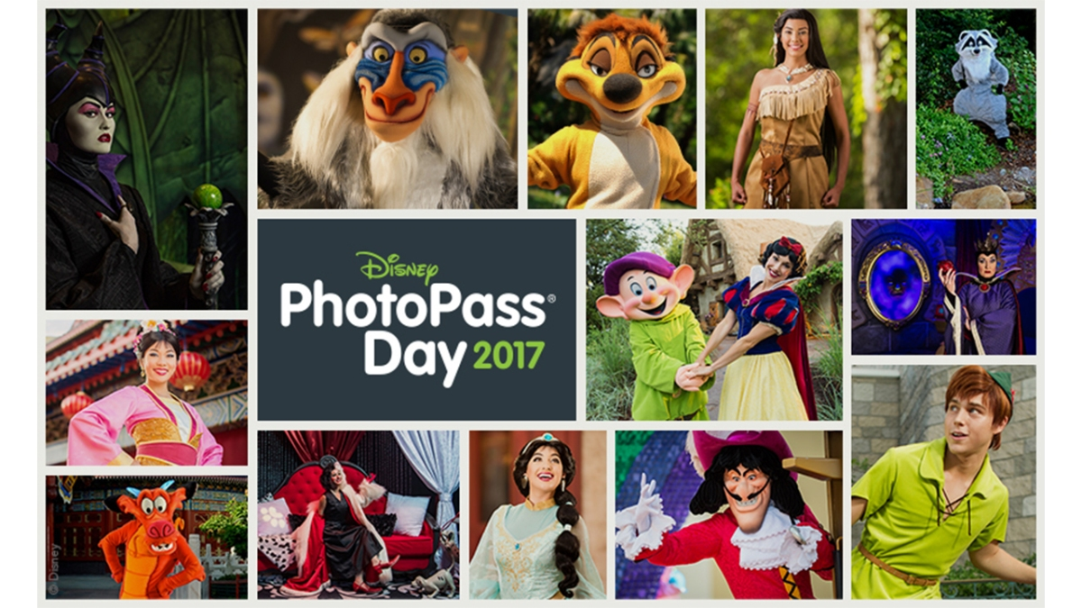 Walt Disney World Offers Special Character Experiences and Photo Opportunities During Disney PhotoPass Day