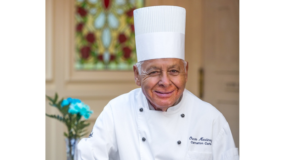 'Chef Oscar' Martinez, Longest-Tenured Disneyland Cast Member, Retires
