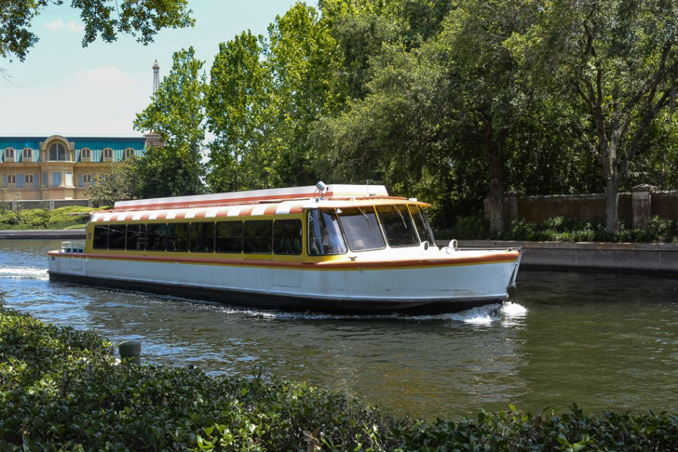 Epcot Resort Area Friendship Boats Have Resumed Service