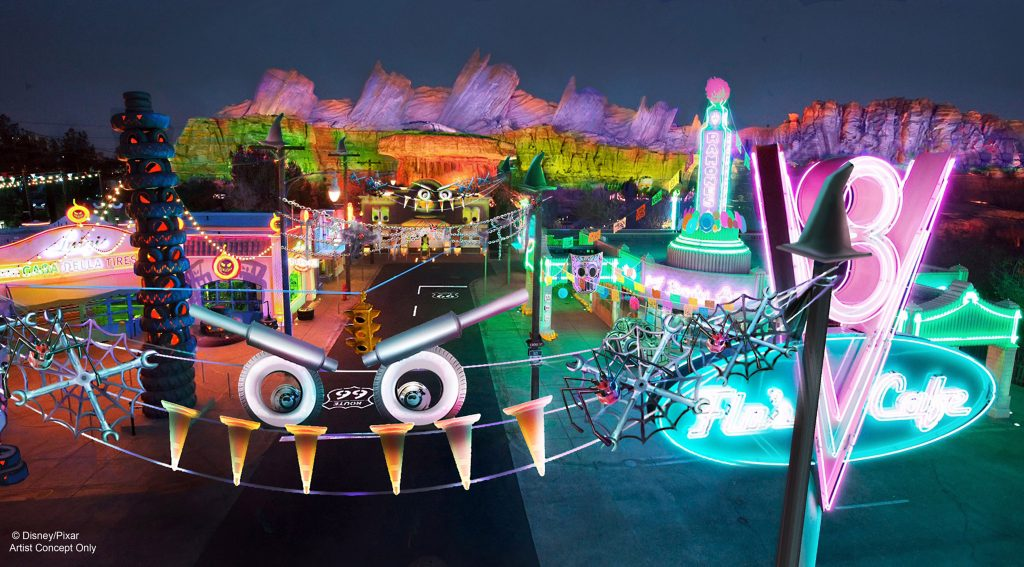 New Halloween Fun, Thrills and Villainous Décor Cast a Spell at Disney California Adventure Park