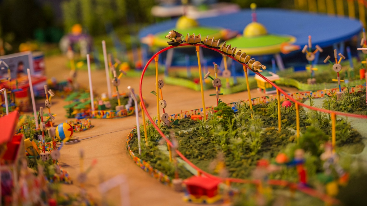 Toy Story Land Model Now on Display at Walt Disney Presents