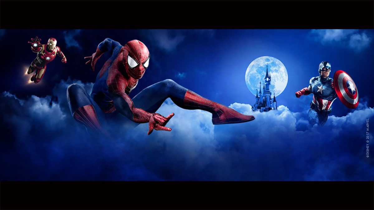 Disney Announces Marvel Super Heroes Come to Disneyland Paris in Summer 2018