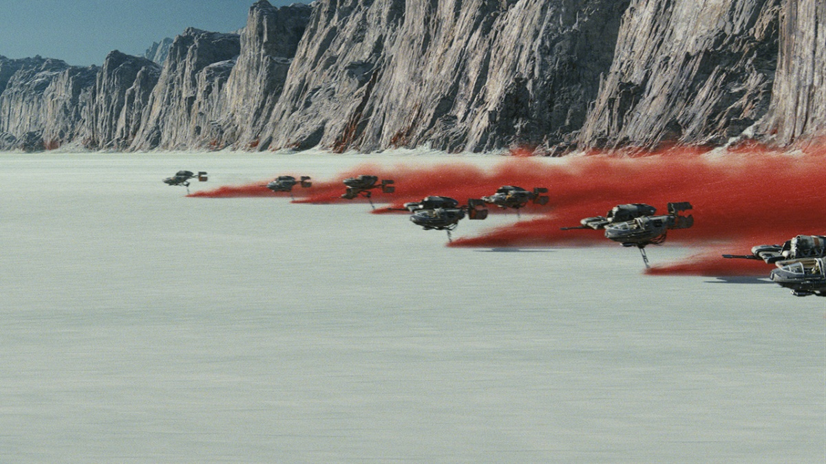 New Adventure from Star Wars: The Last Jedi Coming to Star Tours ThisFall