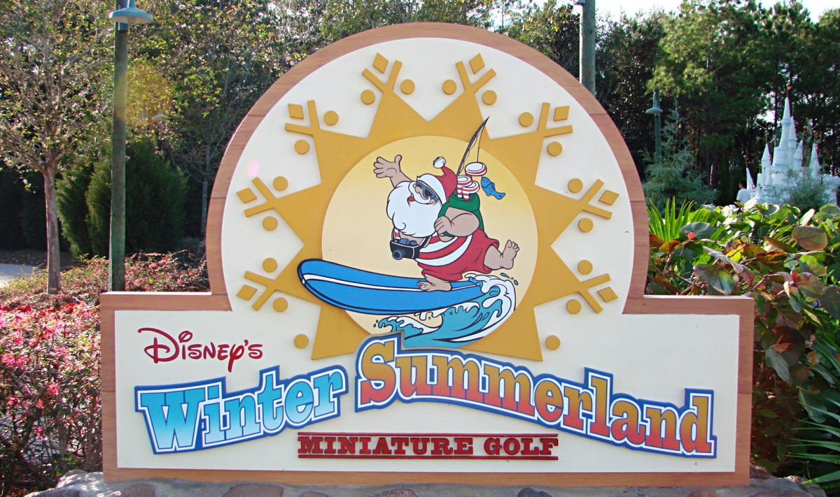 Winter Summerland Mini Golf to Re-Open at Walt Disney World