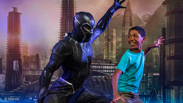 Encounter Black Panther at Disney California Adventure in2018