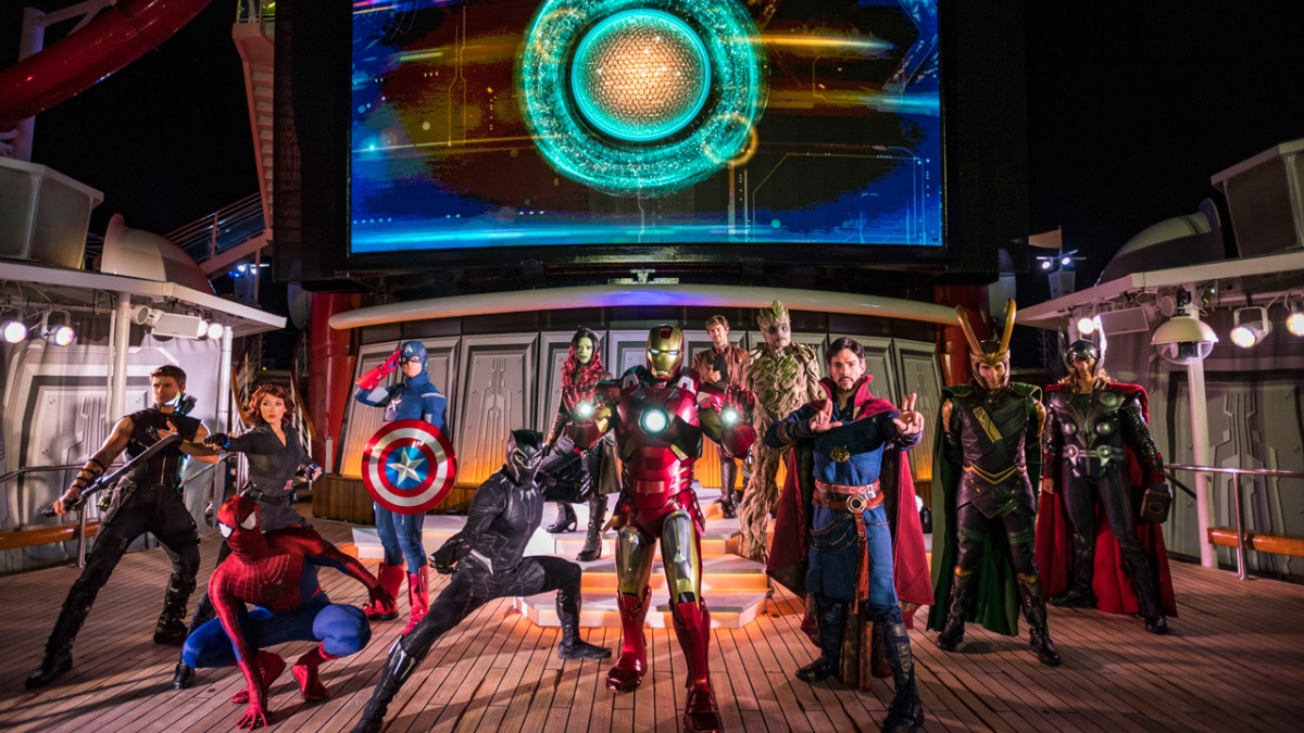 Disney Cruise Line Gives First Look at Marvel Day at Sea on the DisneyMagic