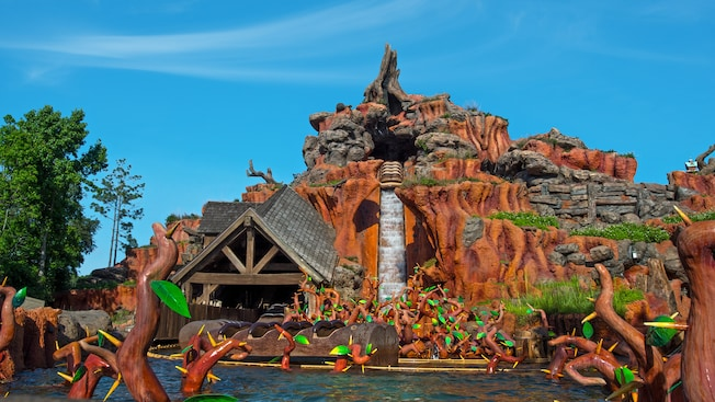 "Splash Mountain at Disneyland and Walt Disney World to be Re-Themed to ""Princess and the Frog"""
