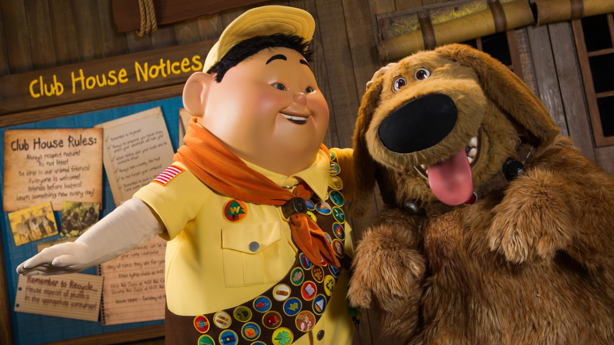 New Show at Disney's Animal Kingdom to Feature Russell, Dug from Disney•Pixar's 'UP'