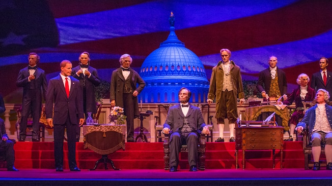 The Hall of Presidents Reopens at Walt Disney World on December 19th After Year-Long Transformation