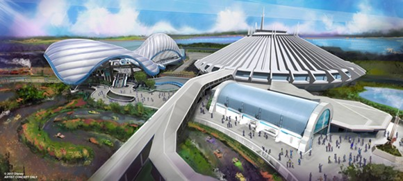 Walt Disney World Files Permits for Tron Coaster